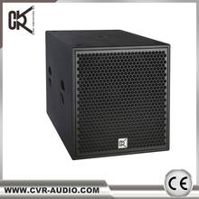 "active 21 inch subwoofer speaker + 21"" subwoofer speaker box + power amplifier sound sub-bass"