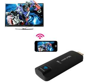 A2W EZCast Dongle kablosuz TV çubuk mini PC WiFi tabela ekranlar 2K Airplay DLNA Miracas