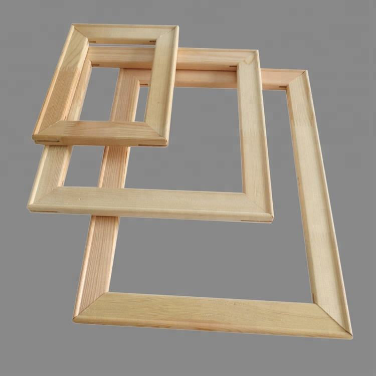 China supplier manufacture best price canvas frame stretcher bars oil painting inner frame