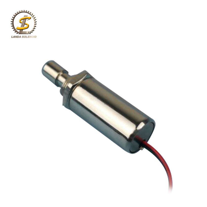 China supplier manufacturer price small push pull type solenoid coil 24vdc