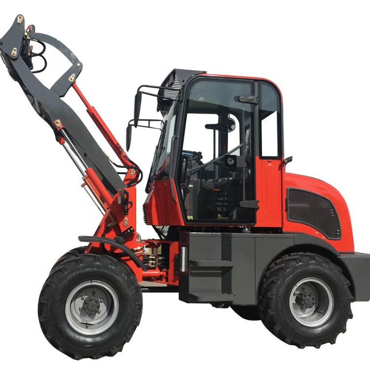 ER08 ZL08 HZM908 china mini farm front end loader with CE ROPS