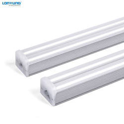 DLC linkable 8ft 60W indoor lighting t5 integrated tubes led light for hotels offices Etl Dlc listed