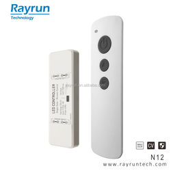 Rayrun Nano N12 RF Wireless Remote Single Color LED Dimmer Controller