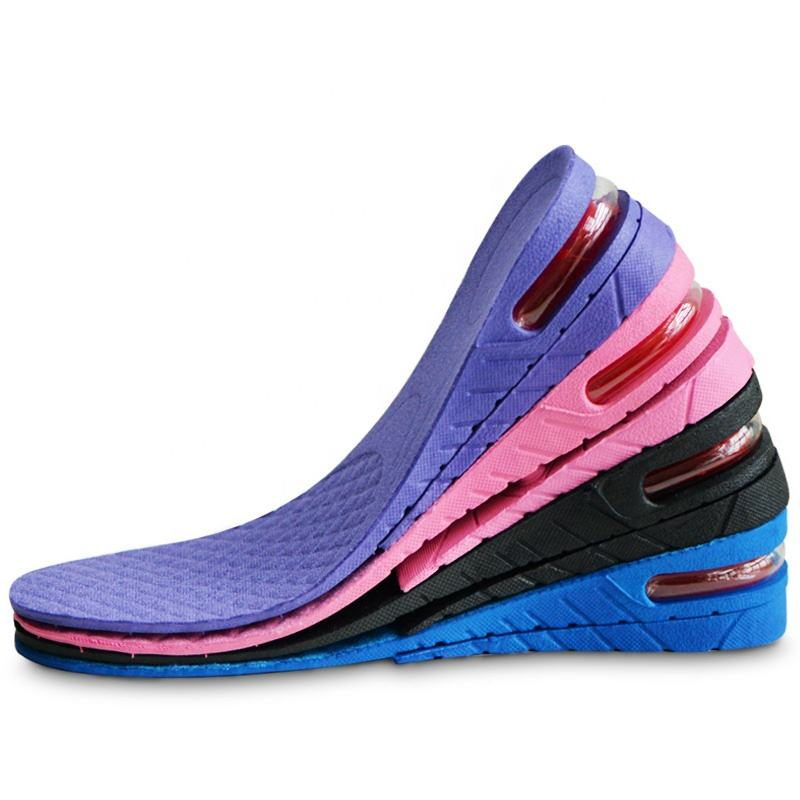 Bangnistep Height Boosting Insoles Height Elevator Insole Cushion Shoe Insert Height Increase Insoles