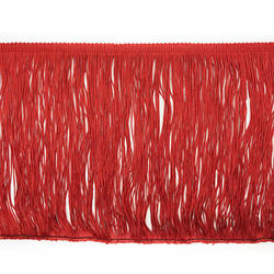 8 INCH BEAUTIFUL RAYON CHAINETTE sequin trim  FRINGE FOR GARMENT