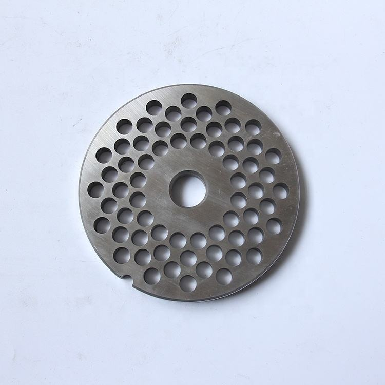 Custom quality #42 meat grinder flat plate accessory