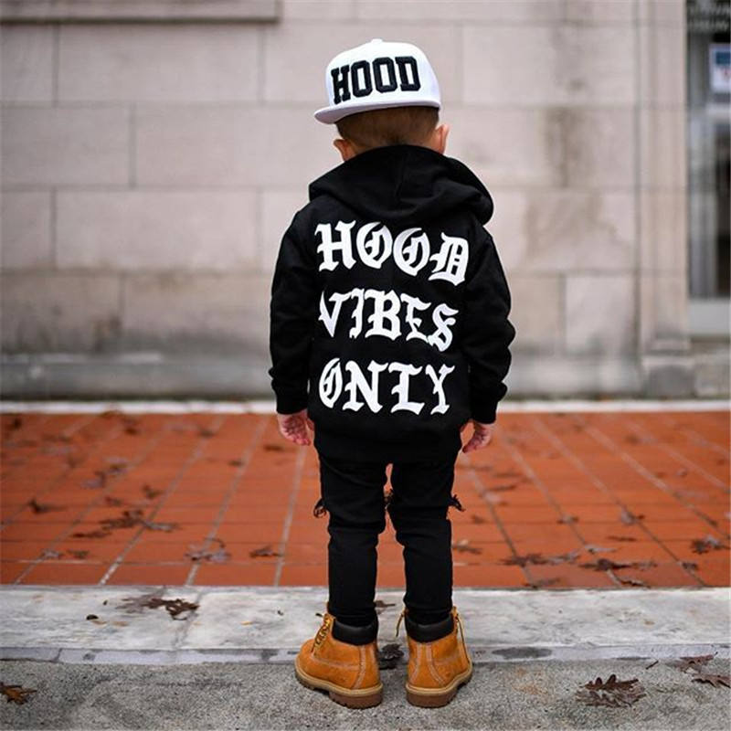 Bulk New print hoodies Autumn Winter Kids Sweatshirt Tops Long Sleeve hoodies Boys Girls Child Sweatshirt