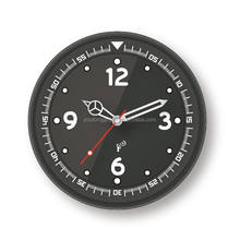 radio controlled world wall clock LCD display