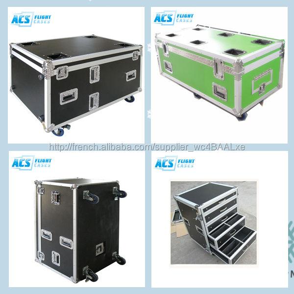 Utilitaire de stockage cas de vol / boîte avec couvercle