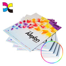 Custom size paper printing printed product A4 catalogue sample leaflet brochure