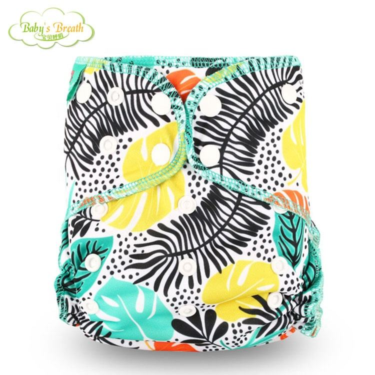 wholesale newborn reusable baby washable cloth diaper nappies bamboo washable 2020