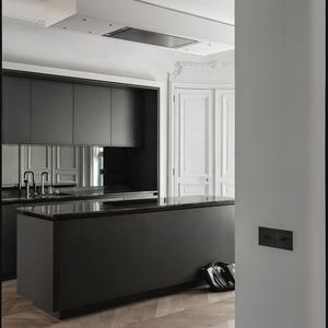 2019 Hangzhou Vermont Australia Kitchen Cabinet Color Trends Black Kitchen Pantry Cupboards