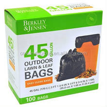 wd1861 Berkley Jensen 1mil Outdoor Lawn & Leaf Bags, 45 Gallon, 100 Bags