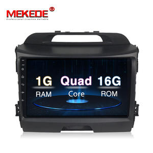 MEKEDE9'' full Touch Screen Android8.1 Car Gps DVD player for Kia Sportage 2011-2015 support BT MIC wifi radio stereo navi media