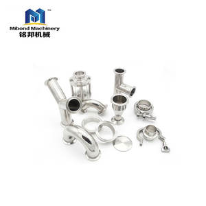 Stainless Steel SS304 SS316l Tri Clamp/Weld Pipe Sanitary Fittings