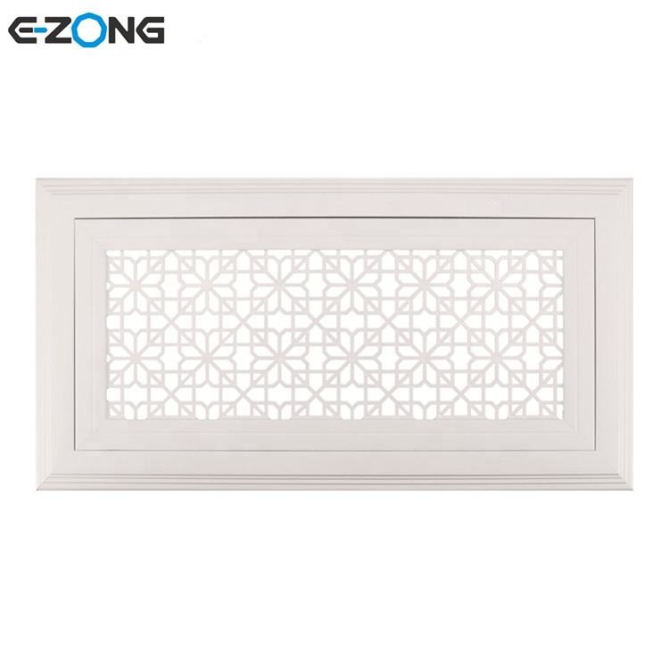 PVC square air ceiling diffuser for decoration and ventilation