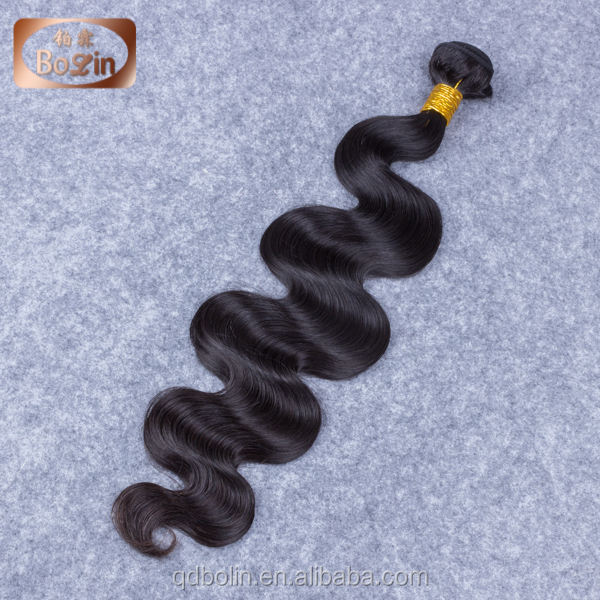Qingdao Bolin Hair Products company cambodian hair vendors stocked 8''-30'' cheap body wave Cambodian virgin hair