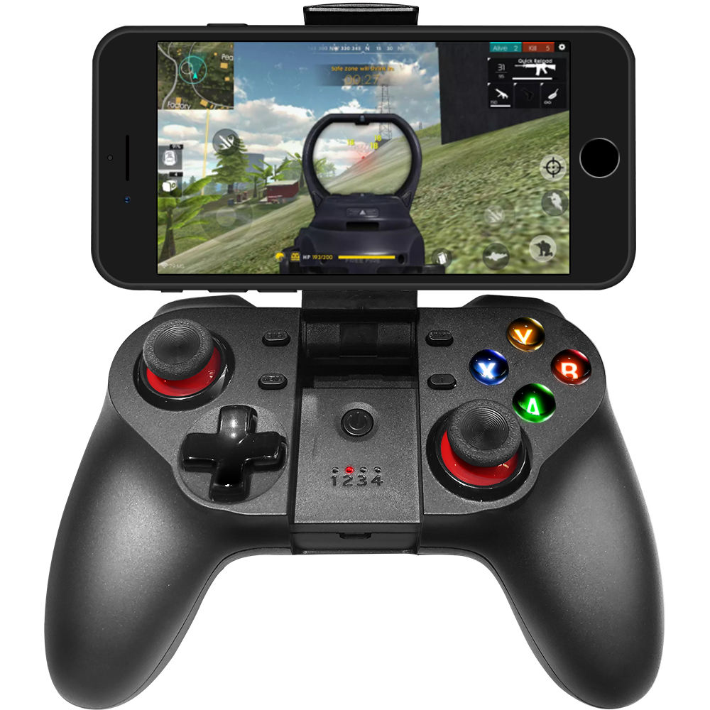 Kablosuz Gamepad cep oyun denetleyicisi Android Smartphone Android Tablet PC Android TV seti Joystick