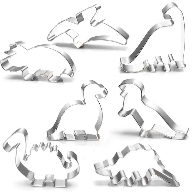 Custom stainless steel cookie mold cookie cutter dinosaur