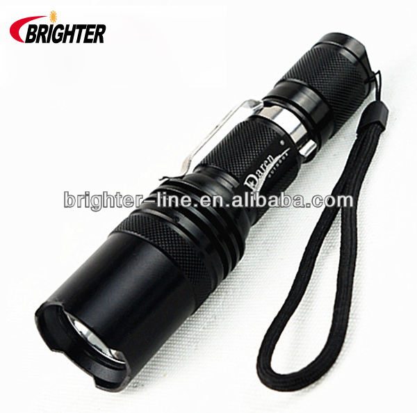 Lighter <span class=keywords><strong>Cree</strong></span> T6 Senter Tiger Elektrik, 1200Lumens 3Mode 18650 Luar Ruangan