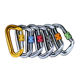 Light Weight Multi Tool Colorful Hiking Customized Mini Climbing Carabiner
