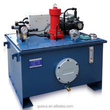 hydraulic power station for for sweeping machine