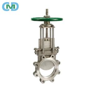 Made In China Stainless Steel 316 Sluice Knife Gate Valve with assembly drawing