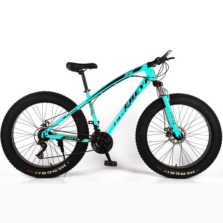 OEM offered fat boy 26 inch new style big tyre / bike for sale colored fat bike / complete suspension Fork Fat Bicycle