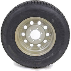 Wholesale 225/75r15 trailer tire and wheel package