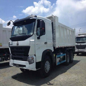 HOWO A7 Tipper Truck For Sale In Fiji
