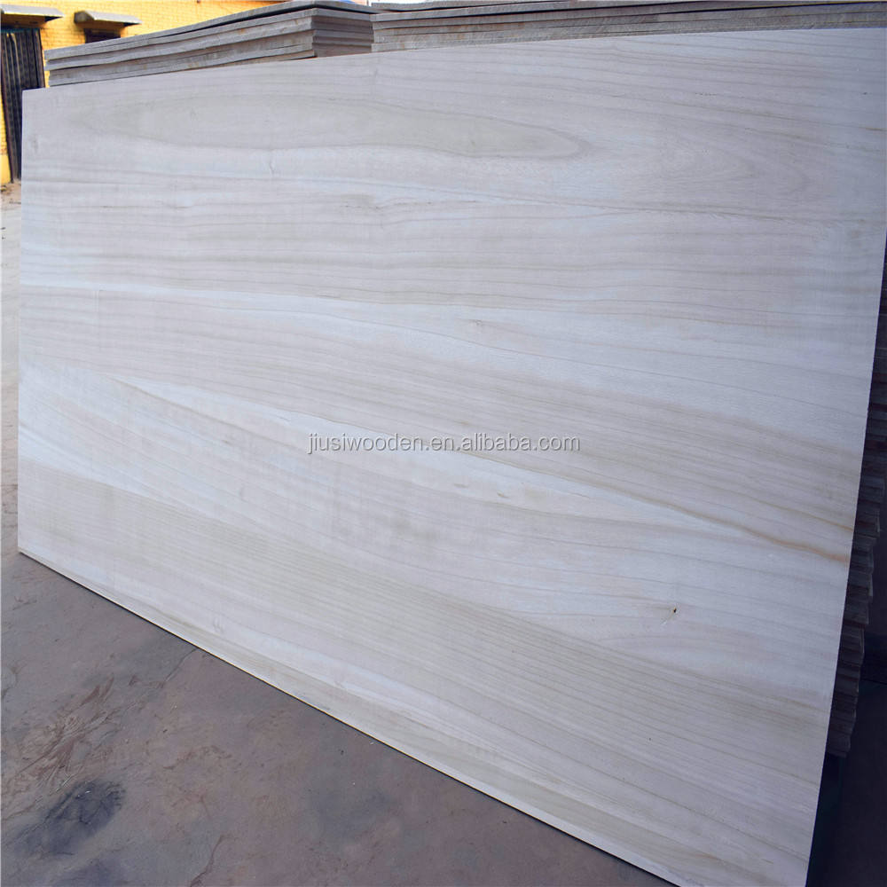 environmental solid wood boards wholesale paulownia wood