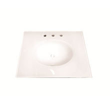 Integral Tempered Glass Lavatory Counter Tops Sink HL-2019