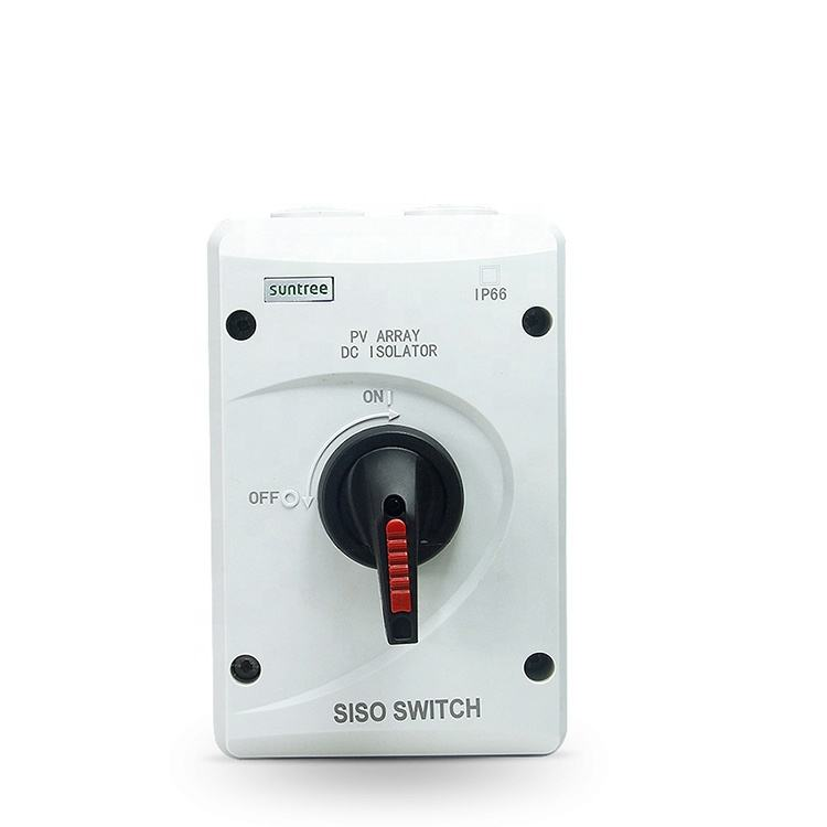 Suntree SISO-40 Disconnector 20A Surya PV DC 1000 V Isolator Switch