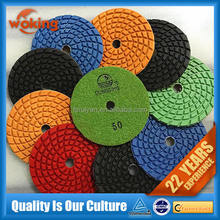 marble wet polishing pad for stone
