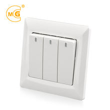 Types of night electrical wall switch with led indicator light