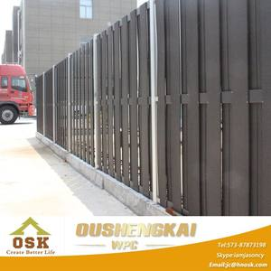 Popular Wood Plastic Composite Fence