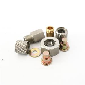 Professional screw fastener factory nut knurled nut custom hex nut/bolt
