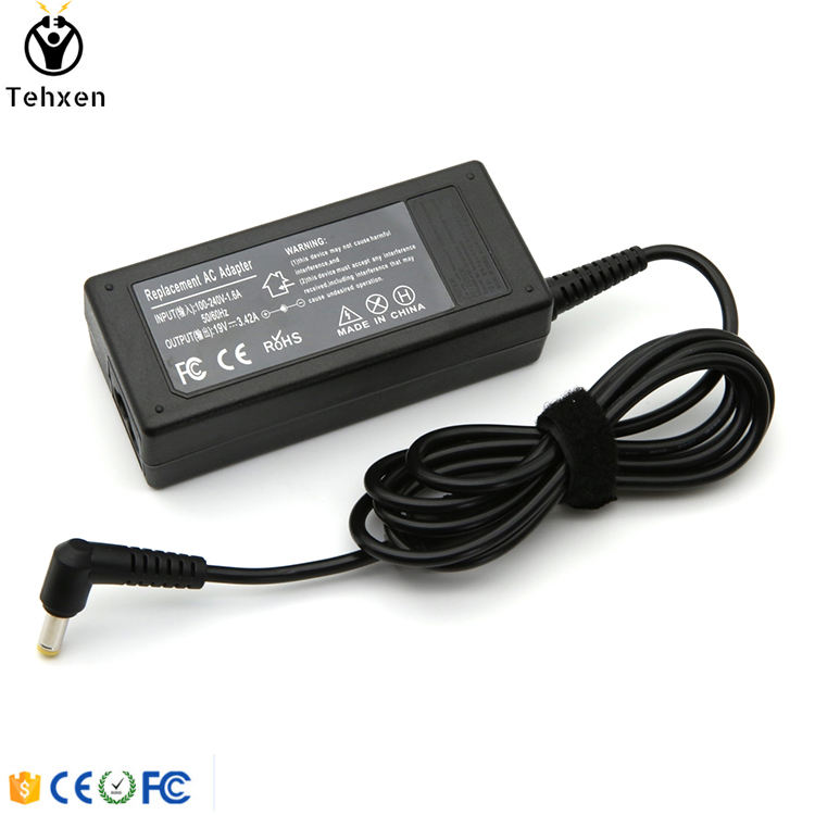 Laptop AC Power Adapter 19 V 3.42A 65 W Notebook Adaptor For Acer