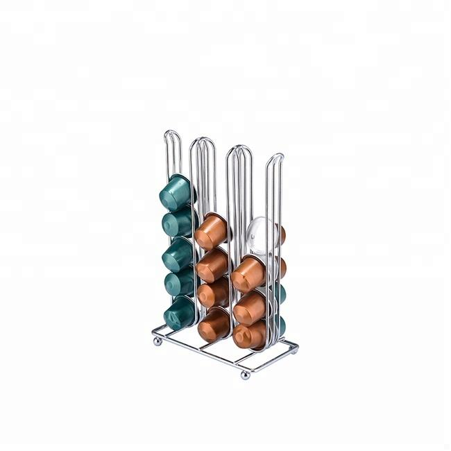 Metal Wire Cup Coffee Stand Dolce Gusto Nespresso Capsule Holder