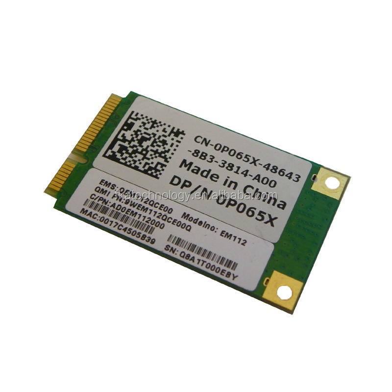 Wifi pci Express Mini Card Wireless LAN PCI- express wifi kartı p065x dell inspiron 1410 Vostro A840 A860