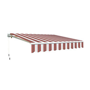 Hot Sale Manual Retractable Patio Awning Outdoor Sun Shade Canopy