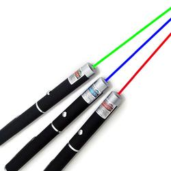 Custom print aluminum blue red green laser pointer pen 5mw pen laser pointer