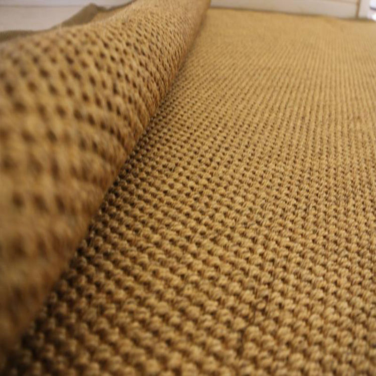 Tapis en Sisal de Jute naturel, avec support en Latex naturel, pour salon