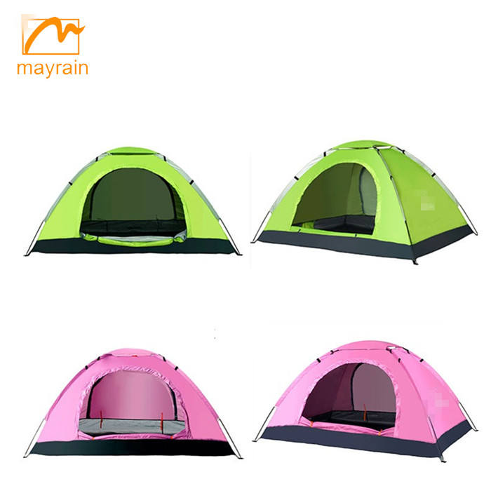 Hot selling waterproof 3-4 person outdoor camping tent
