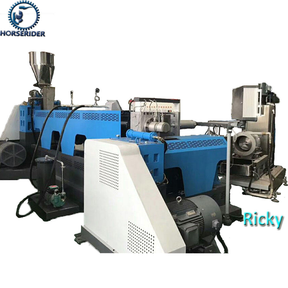 300-500kg/h double stage recycled plastic pelletizing machine