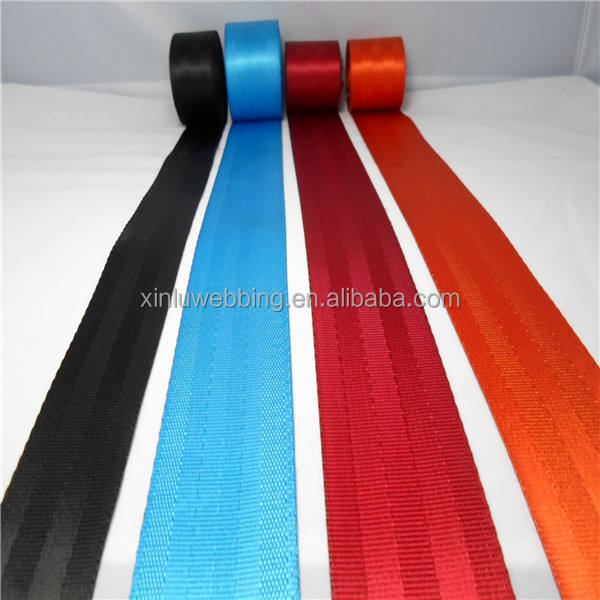 High quality polyester car seat belt webbing by roll wholesale