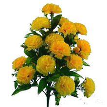 24 heads artificial carnation flower