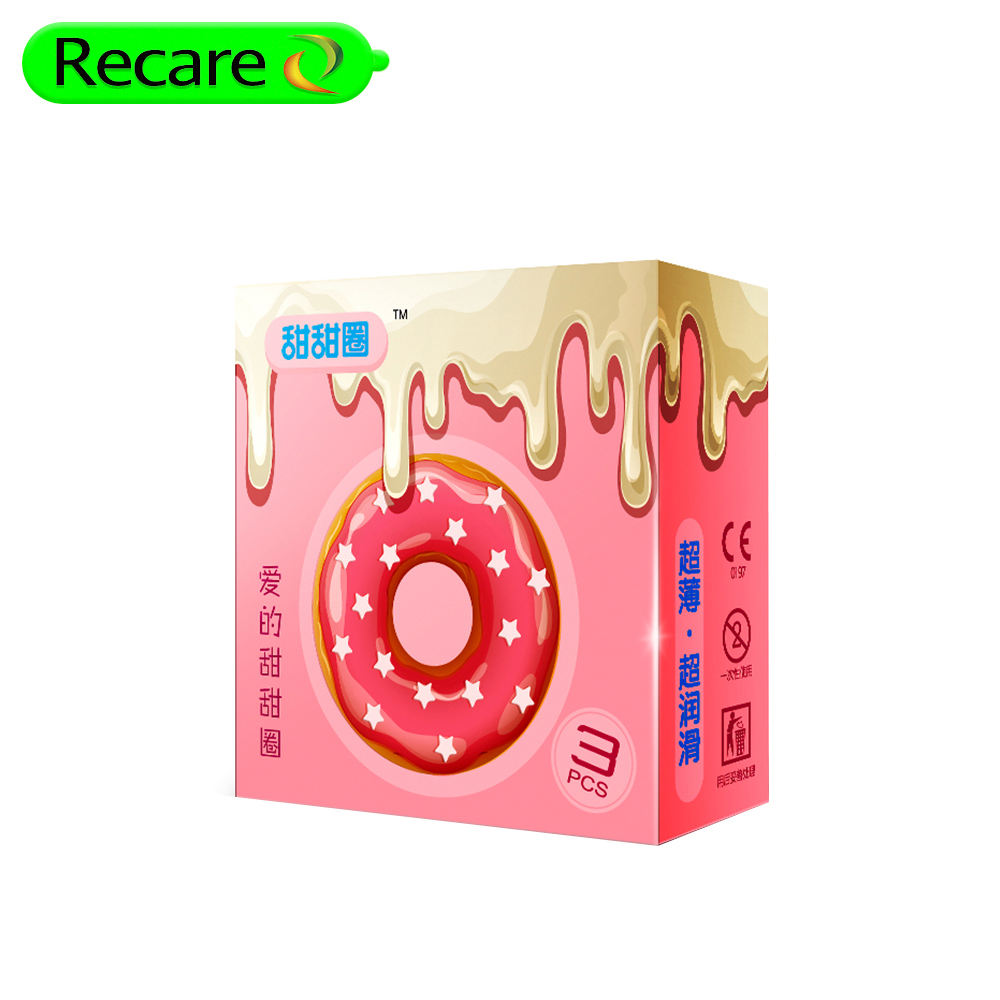 3pcs/box recare production condom with different scents