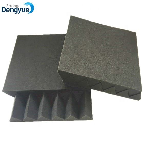 Sound proofing sponge pyramid shape studio/band practice used sound absorption acoustic foam