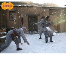 No-Poluted Instant Artificial Snow Film and Snow Scene